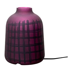 Table lamp, lilac