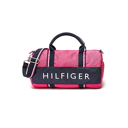 Model Tommy Hilfiger Women39s Lizzie Duffle Bag  Whisper White  Free UK