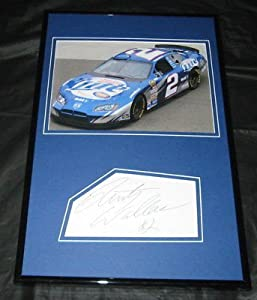 Rusty Wallace Miller Lite Signed Framed 11x17 Photo Display JSA by The Steel City Auctions Gallery