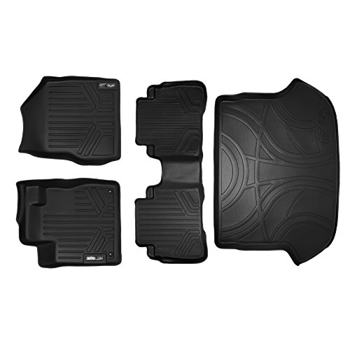 MAXFLOORMAT Floor Mats and MAXTRAY Cargo Liner for Nissan Murano (2009-2014) Complete Set (Black) (2014 Nissan Murano Cargo Liner compare prices)