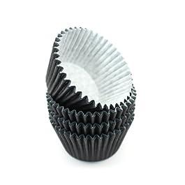 360 negro de alta calidad conjunto de decoradores de pasteles moldes para magdalenas