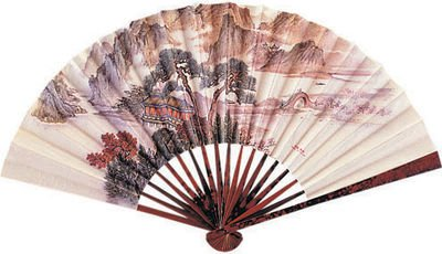 Costume Paper Fan - fun with geisha costumes! - 1