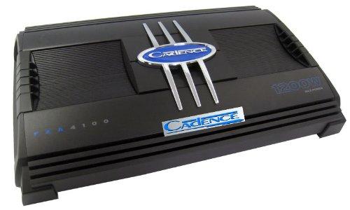 Fxa4100 - Cadence 4 Ch. 1200 Watt Amplifier