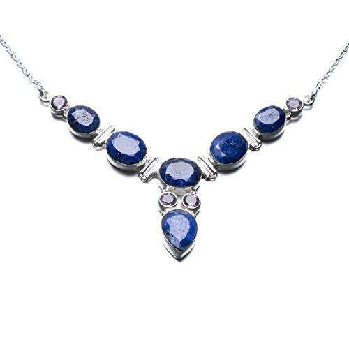 stargems-tm-natur-saphir-und-amethyst-einzigartiges-design-925-sterling-silber-halskette-18-1-51-cm