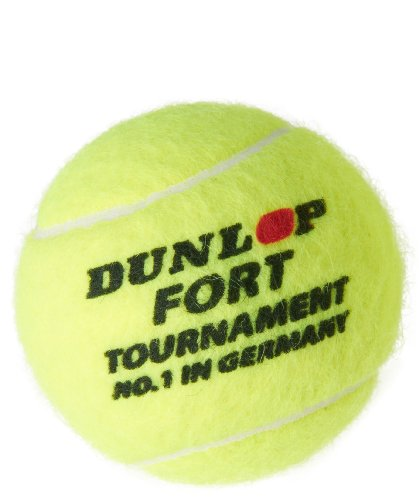 Dunlop Tennisball Fort Tournament 4er Dose