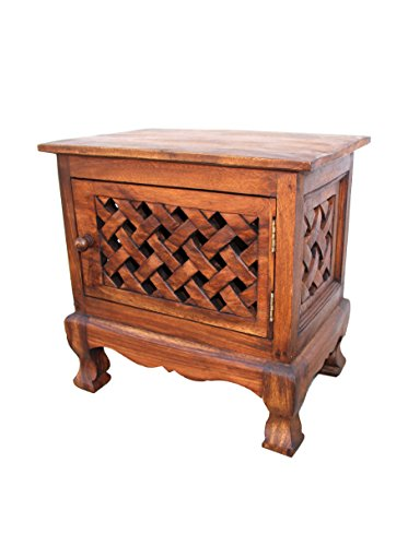 Asian Art Imports Carved Lace Cabinet