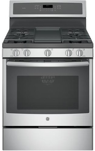 GE-PGB911SEJSS-Profile-30-Stainless-Steel-Gas-Sealed-Burner-Range-Convection