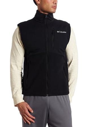 Columbia Men's Ballistic II Fleece Vest, Black, Medium