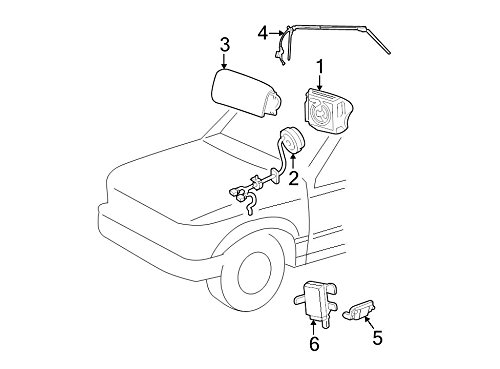 Ford 1L5Z-14A664-AB, Air Bag Clockspring (Clock Spring Ford compare prices)