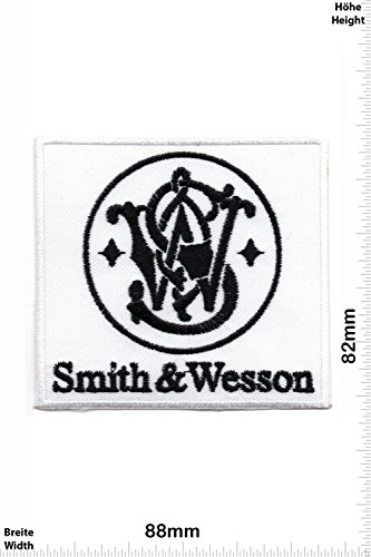patches-smith-wesson-white-weapon-arms-rifle-shotgun-pistol-gun-firearms-vest-iron-on-patch-applique