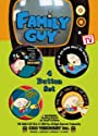Family Guy~ Family Guy 1 1/2 4 button set ~ approx 1 and 1/2 inches