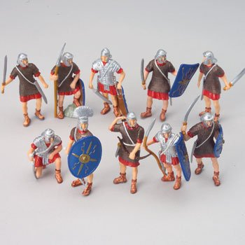 Buy Low Price McToy 12 – TOY ROMAN TROJAN LEGION SOLDIERS – ROMAN EMPIRE SOLDIERS Assorted Weapons & Positions – Lots of Fun! Figure (B000NOHHZO)