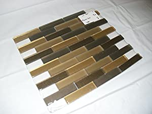 jeffrey court glass wall tile pharaohs gold pencil