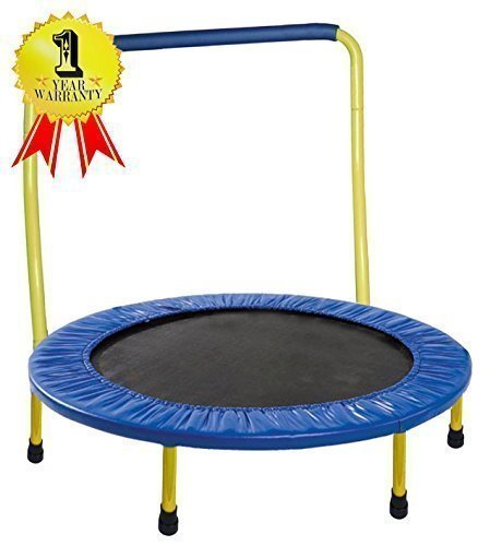 "Lowest Prices! Portable & Foldable Trampoline - 36"" Dia. Durable Construction Safe for Kids..."