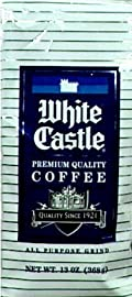 White Castle Premium Coffee 13.0 OZ (Pack of 6)