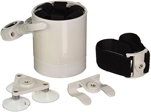 KassWinns LCW White Marine Liquid Caddy Beverage Holder by KassWinns (Liquid Caddy Beverage Holder compare prices)