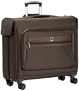 Delsey Luggage Helium Superlight Wheeled Garment Bag - Mocha