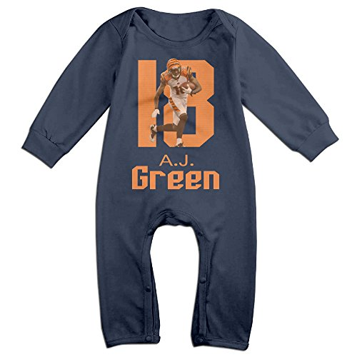 Z-Jane A.J. #12 Green Newborn Babys Long Sleeve Bodysuit Outfits Navy 12 Months (Polaroid Coffee Cup compare prices)