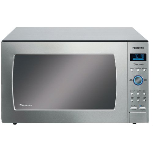 Panasonic NN-SE982S Stainless 1250W 2.2 Cu. Ft. Countertop Microwave Oven with Inverter Technology (Panasonic Microwave Built In Kit compare prices)