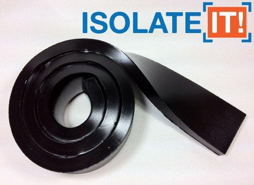 "Isolate It!: Sorbothane Strip 36"" (91.4Cm) X 2"" (5.1Cm) X 1/2"" (1.27Cm) 50 Duro - 1 Strip"