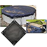 Arctic Armor Leaf Net for 12ft x 24ft Oval Above Ground Pools