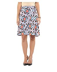 Yepme Women's Multi-Coloured Polyester Skirts - YPWSKRT5149_M