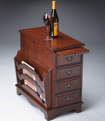 Image of Butler Specialty 7038024 Magazine End Table, Plantation Cherry (B00362FE8M)