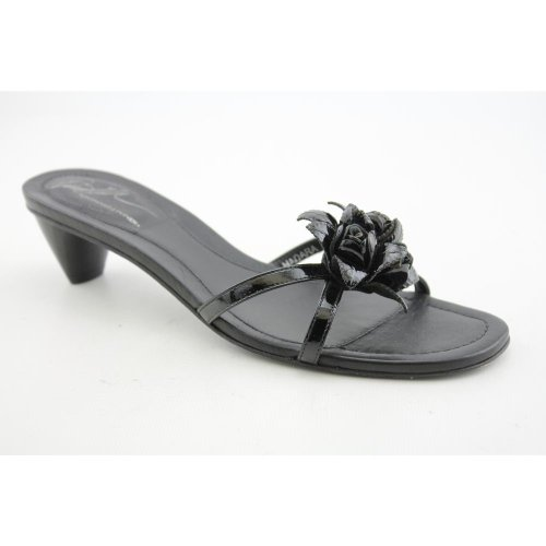 Donald J Pliner Hadara Womens SZ 7.5 Black New Textile Slides Sandals Shoes