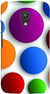PrintVisa 3D-MMG2-D7947 Back Case For Moto G2