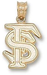 Florida State University Interlocked FS 1 2 - 14K Gold by Logo Art