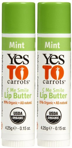 Yes To Carrots C Me Smile Lip Butter, Mint