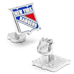 NHL New York Rangers Cufflinks by Cufflinks Inc.