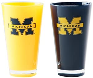 Buy NCAA Michigan Wolverines 20-Ounce Insulated Tumbler - 2 Pack by Duck House