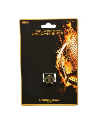 "NECA The Hunger Games: Catching Fire ""Mockingjay"" Ring - 1"