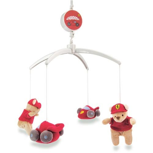 Ferrari Cot Musical Toy white
