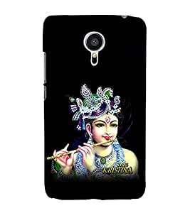 printtech Lord God Krishna Back Case Cover for Meizu MX5::Meizu Mx 5