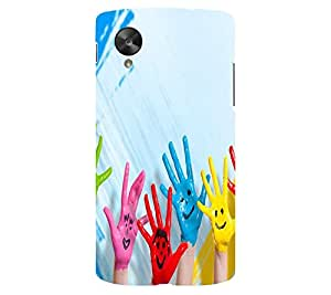 perfect print Back cover for LG Google Nexus 5