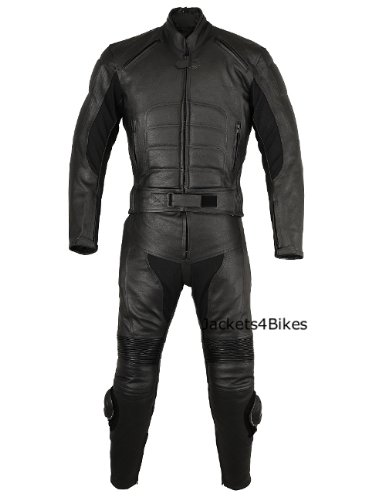 2PC MOTORCYCLE BIKE LEATHER RACING RIDING SUIT ARMOR 40