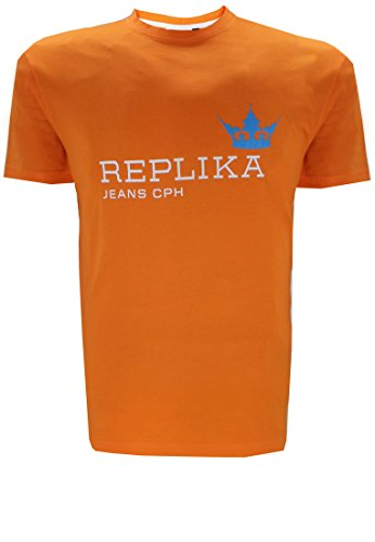 Replika -  T-shirt - Uomo arancione 74