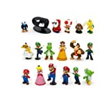 Super Mario Bros Figure Toy 18pcs Doll 1-3 Action Figure