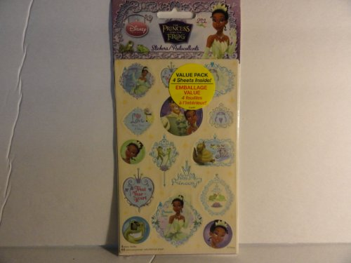 The Princess and the Frog Stickers - 1