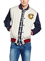 Pepe Jeans London Chaqueta Clerke (Crudo / Azul)