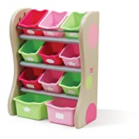 The Step2 Company Fun Time Room Organizer Bins, Pink from The Step2 Company, LLC