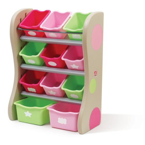 Check Out This The Step2 Company Fun Time Room Organizer Bins, Pink
