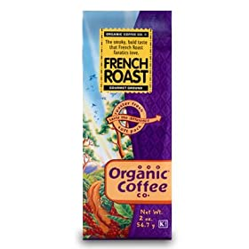 The Organic Coffee Company products