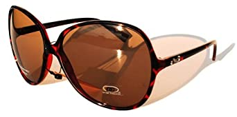462a11a4b168 DG Eyewear Sunglasses Shades Block 100% UVB UVA (27104 Leopard) Clothing