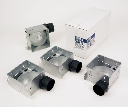 Broan 2677H Housing Pack With Mounting Ears For 2678F, 2679F, 2680F, Fl2679F, Fl, N/A front-445444