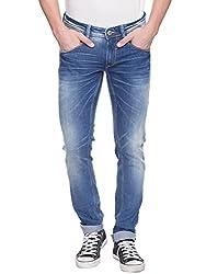 Spykar Light Blue Low Rise Skinny Fit Jeans (Actif)