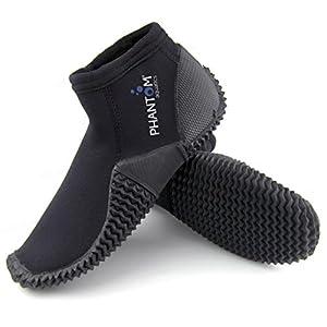 Phantom Aquatics 3mm Surf Snorkeling Dive Boots, Size 13