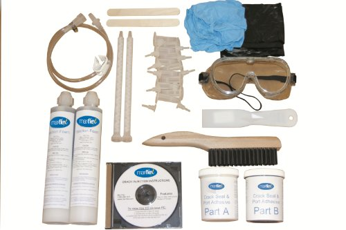 Mar-flex 8'-10' Concrete Crack Repair Kit (POLYURETHANE)